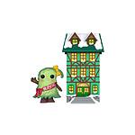 Funko Christmas Village - Figurine POP! Town Hall w/Mayor Patty Noble 9 cm
