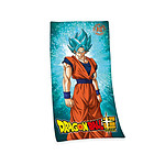Dragon Ball Super - Serviette de bain Super Saiyan God Super Saiyan Son Goku 150 x 75 cm