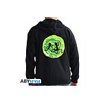 Rick And Morty - Sweat homme Portail noir - Taille L