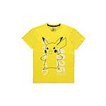 Pokémon - T-Shirt Shocked Pika - Taille XL