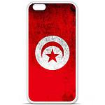 1001 Coques Coque silicone gel Apple iPhone 6 / 6S motif Drapeau Tunisie