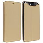 Avizar Etui folio Dorée pour Samsung Galaxy A80