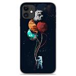 1001 Coques Coque silicone gel Apple iPhone 11 motif Cosmonaute aux Ballons