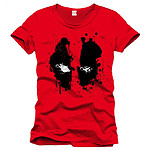 Marvel Comics - Deadpool - T-Shirt Splash Head - Taille XL