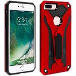 Avizar Coque Rouge Hybride pour Apple iPhone 7 Plus , Apple iPhone 8 Plus