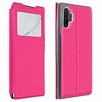 Avizar Etui folio Rose pour Samsung Galaxy Note 10 Plus