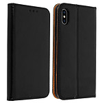Avizar Etui folio Noir pour Apple iPhone X , Apple iPhone XS