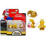 Nintendo - Figurine Micro s GOLD Series Bullet Bill / Koopa / Cheep