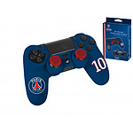 PSG Paris Saint Germain Kit de customisation pour manette PS4 N 10 Bleu