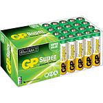 GP Super Lot De 40 Piles Aaa Alcalines Lr03 GP_LOT40LR03