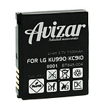 Avizar Batterie Blanc pour LG KC910, LG KU990