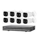 Dahua Kit de vidéosurveillance enregistreur + 8 caméras compactes - 1080p