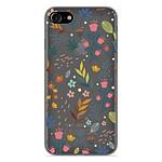 1001 Coques Coque silicone gel Apple iPhone 8 motif Fleurs colorées