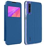 Avizar Etui folio Bleu pour Xiaomi Mi 9 Lite