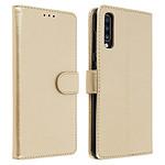 Avizar Etui folio Dorée pour Samsung Galaxy A70