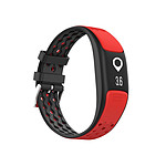 Cellys Bracelet connecté bluetooth Healthy 2.0 Rouge