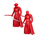 Star Wars Episode VIII - Pack 2 statuettes PVC ARTFX+ Elite Praetorian Guards 19 cm