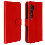 Avizar Etui folio Rouge pour Xiaomi Mi Note 10 , Xiaomi Mi Note 10 Pro