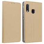 Avizar Etui folio Dorée pour Samsung Galaxy A20e