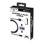 Subsonic Câble de recharge USB C XXL pour manette DualSense PS5