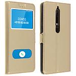 Avizar Etui folio Dorée pour Nokia 6.1