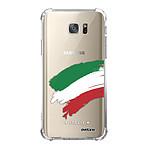 EVETANE Coque Samsung Galaxy S7 anti-choc souple angles renforcés Italie