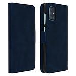 Avizar Etui folio Bleu Nuit pour Samsung Galaxy A71