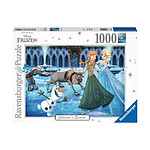 La Reine des neiges - Puzzle Collector's Edition Anna, Elsa, Kristoff, Olaf et Sven (1000 pièce