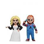 La Fiancée de Chucky - Pack 2 figurines Toony Terrors Chucky & Tiffany 15 cm