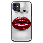 1001 Coques Coque silicone gel Apple iPhone 11 motif Lèvres Rouges