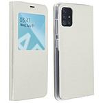 Avizar Etui folio Blanc pour Samsung Galaxy A51