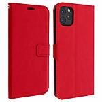 Avizar Etui folio Rouge Portefeuille pour Apple iPhone 11 Pro Max