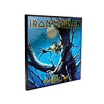 Iron Maiden - Décoration murale Crystal Clear Picture Fear of the Dark 32 x 32 cm