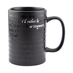 Harry Potter - Mug I Would Rather Be At Hogwarts