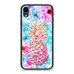 1001 Coques Coque silicone gel Apple iPhone XR motif Ananas