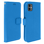 Avizar Etui folio Bleu pour Apple iPhone 11