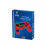 PSG Paris Saint Germain Kit de customisation pour manette PS4 N 7 Rouge