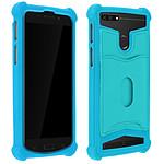 Avizar Coque Turquoise pour Compatibles avec Smartphones de 5,3 à 5,5 pouces