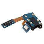 Avizar Connecteur Prise Jack 3.5mm Galaxy J6 Pièce compatible + Nappe de connexion