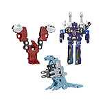 Transformers Generations - Pack 3 figurines Vintage G1 Mini-Cassettes HasCon 2019 Exclusive