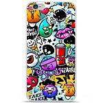 1001 Coques Coque silicone gel Apple IPhone 7 Plus motif Graffiti 2
