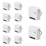 Sonoff Lot De 10 Mini Modules On/off Wifi Avec Deux Entrées Interrupteur SON_MINI_LOT-10