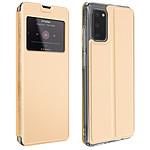 Avizar Etui folio Dorée pour Samsung Galaxy S20
