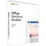 Microsoft Office Famille et Etudiant 2019 - Licence perpétuelle - 1 poste - A télécharger