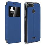 Avizar Etui folio Bleu pour Xiaomi Redmi 6A , Xiaomi Redmi 6