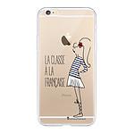 LA COQUE FRANCAISE Coque iPhone 6/6S souple transparente Classe
