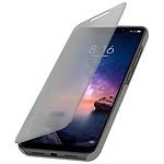 Avizar Etui folio Argent pour Xiaomi Redmi Note 6 Pro