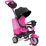 Smartrike  Tricycle Swing DLX 4 en 1 Rose