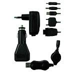 Zenitech 200061 Kit chargeur USB complet