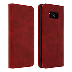 Avizar Etui folio Rouge pour Samsung Galaxy S8